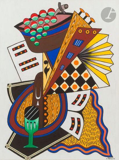 Georges TERZIAN (né en 1939) Le Diapason,...