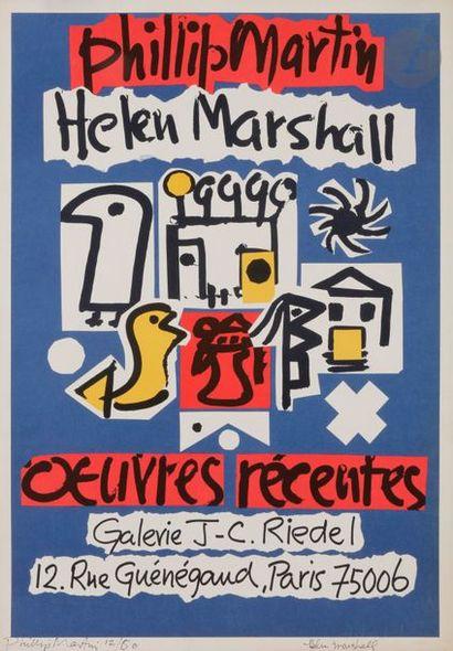 Philip MARTIN et Helen MARSHALL Affiche pour...