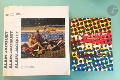 [JACQUET] 4 ouvrages: - Alain Jacquet, Camouflages...