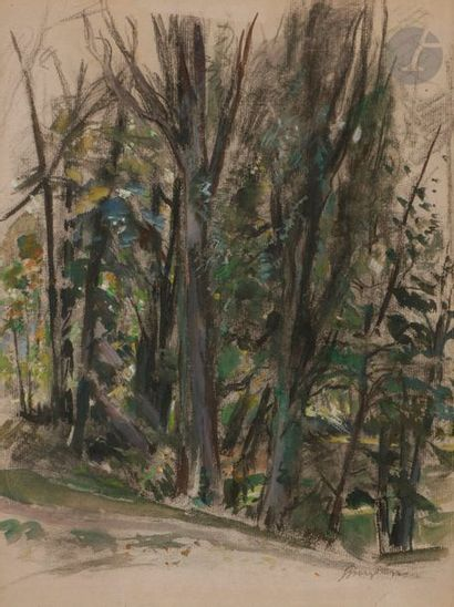 Georges Edmond DARGOUGE (1897-1990) Bois...