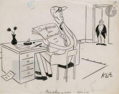 Roger E. DESJOUIS dit KB2 (XXe siècle) Appele-moi...