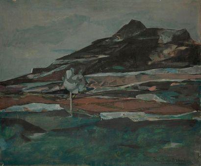 Jean-Claude BÉDARD (1928-1987) Paysage provençal,...
