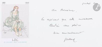 André JUILLARD (né en 1948) La Lecture de...