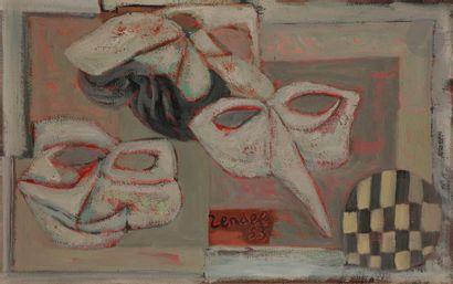 Gabriel ZENDEL (1906-1992) Nature morte aux...