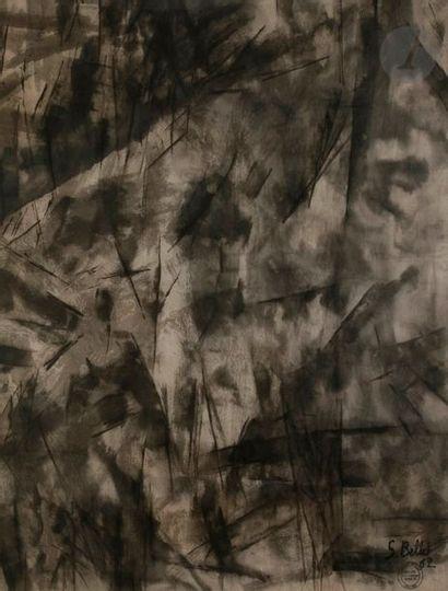 Simone BELLET (1901-1990) Composition, 1962...