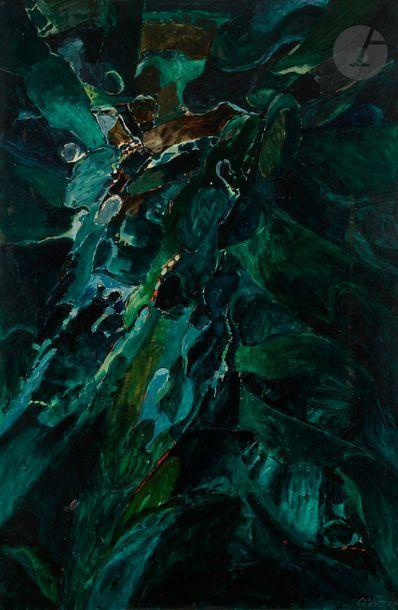 Jean CLERTE (né en 1930) Crépuscule, n°4,...