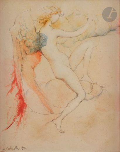 Marcel DELMOTTE (1901-1984) L'Ange, 1970...