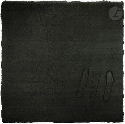 Soweto, 1994 Technique mixte sur toile. Signée, datée et titrée au dos. 91 x 91...
