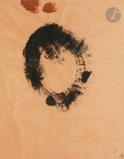 Composition, 1968 Poudre de charbon et de...
