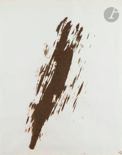 Composition, 1969 Technique mixte sur papier....