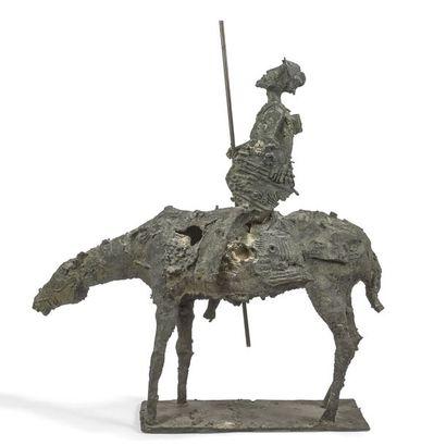 TRAVAIL ITALIEN DES ANNÉES 1970 Don Quichotte,...