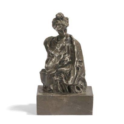 DENYS PUECH (1854-1942) Figure allégorique,...