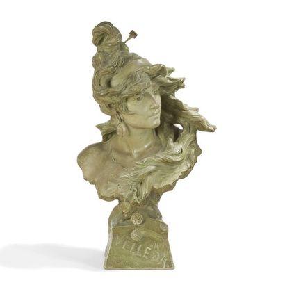 ALFRED JEAN FORETAY (1861-1944) Velléda Sculpture....