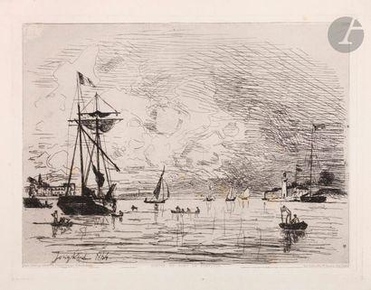 Johan Barthold Jongkind (1819-1891) Exit...