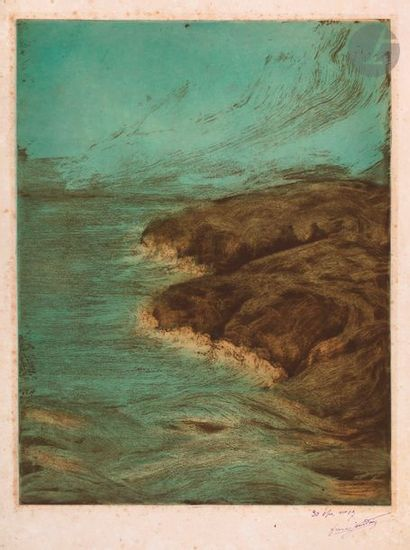 Francis Jourdain (1876-1958) The Sea. Around...