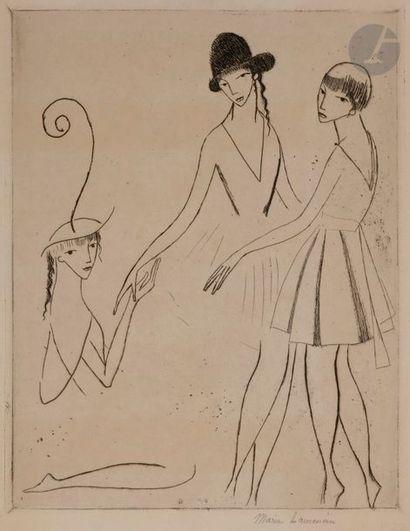 Marie Laurencin (1883-1956) Iphigénie or...