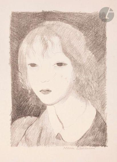 Marie Laurencin (1883-1956) Portrait of a...