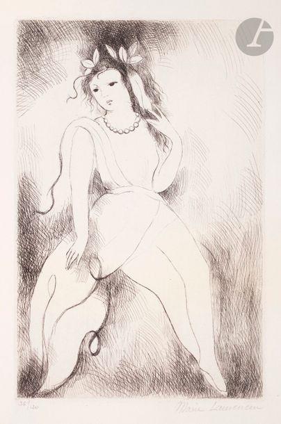Marie Laurencin (1883-1956) Jeanne. 1930....