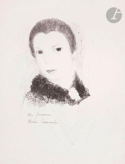 Marie Laurencin (1883-1956) Ma Germaine....