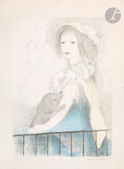 Marie Laurencin (1883-1956) (after) Femme...