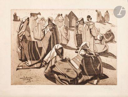Jacques Majorelle (1886-1962) Carpet dealers,...