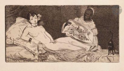 Édouard Manet (1832-1883) Olympia. 1867....