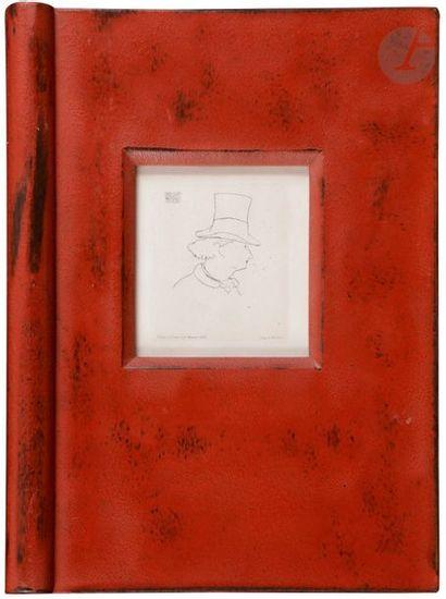 Édouard Manet (1832-1883) Hat profile baudelaire...