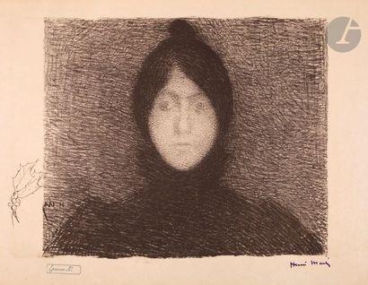 Henri Martin (1860-1943) Indecision. Around...