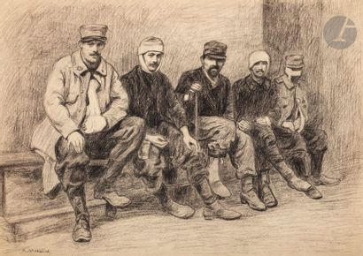 Albert Morand (XIXe-XXe s.) Soldats de la...
