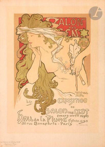 Alphonse Mucha (1860-1939) (d'après) Salon...
