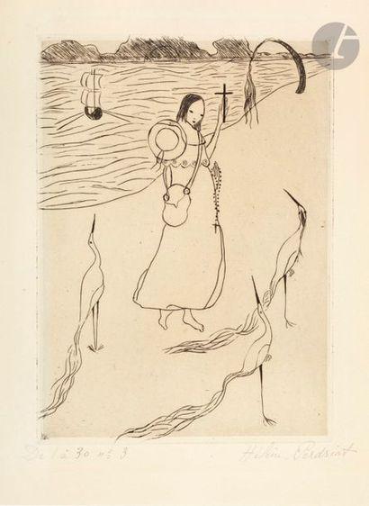 Hélène Perdriat (1889-1969) Voyageuse aux...