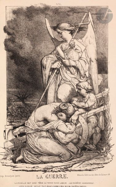 Charles-Désiré Rambert (1824-1877) 4 pl....