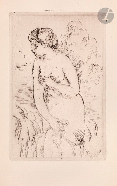 Pierre-Auguste Renoir (1841-1917) Baigneuse...