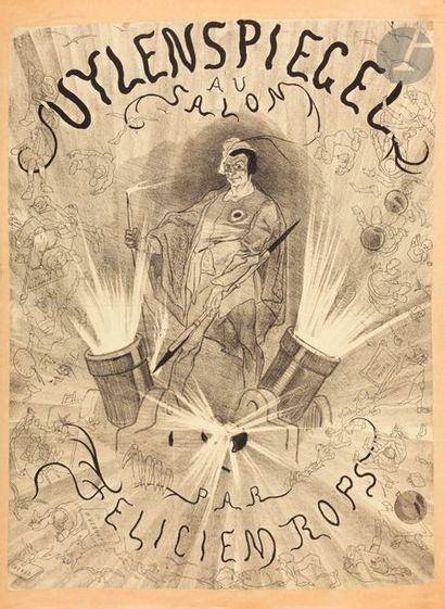 Félicien Rops (1833-1898) Uylenspiegel au...