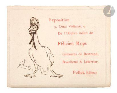 Félicien Rops (1833-1898) (par et d'après)...