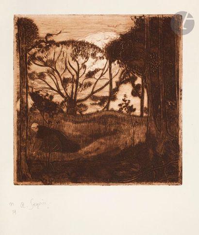 Armand Seguin (1869-1903) Le Soir, ou La...