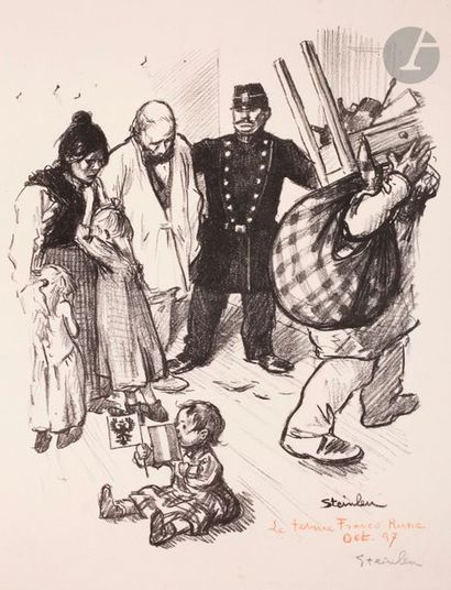 Théophile-Alexandre Steinlen (1859-1923)...