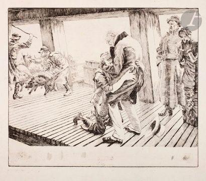 James-J.-J. Tissot (1836-1902) Le Retour....