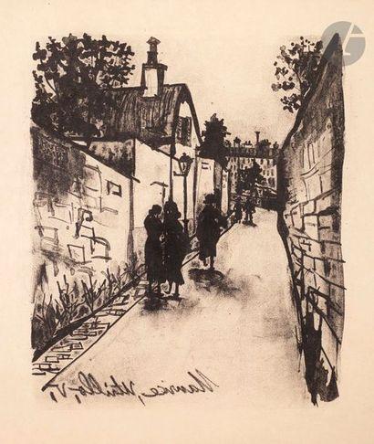 Maurice Utrillo (1883-1955) 2 pl. pour F....