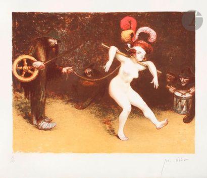 Jean Veber (1864-1928) La Fortune qui danse....