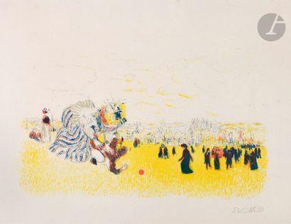 Édouard Vuillard (1868-1940) Jeux d'enfants....