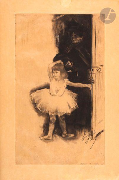 *Louis Legrand (1863-1951) Première leçon...
