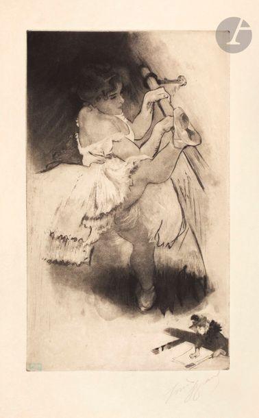 *Louis Legrand (1863-1951) On se tourne....