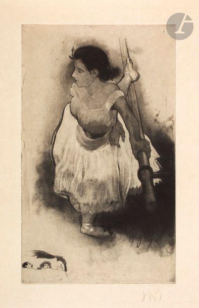 *Louis Legrand (1863-1951) On se retourne....