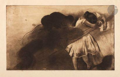 *Louis Legrand (1863-1951) En nage. (Pl....