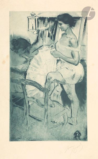*Louis Legrand (1863-1951) Le Déshabillage....