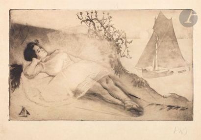 *Louis Legrand (1863-1951) 3e acte, scène...