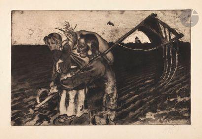 *Louis Legrand (1863-1951) L'Heure de la...