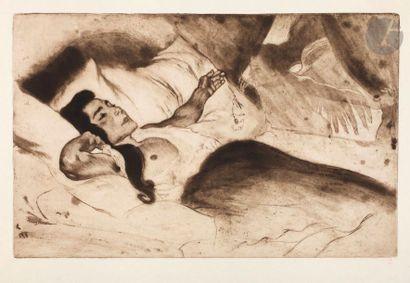 *Louis Legrand (1863-1951) L'Annonciation....