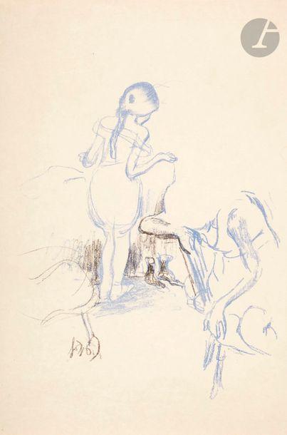 Louis Legrand (1863-1951) Figures féminines....